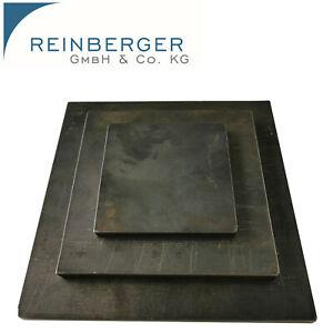 300x150x5 Stahlplatte Ankerplatte Blechplatte von 100-600 mm und St/ärken von 5-30 mm