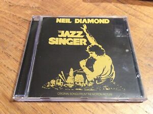 "Neil Diamond ""The Jazz Singer"" cd excellent [America orchestra August Night]"