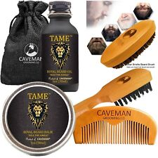 Beard Growth Kit for Men - Grooms Beard Mustache boosts hair growth Beard Oil