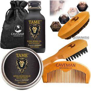 Beard Growth Kit for Men - Grooms Beard Mustache boosts hair growth Beard Oil