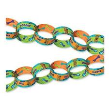 Scooby Doo YAY! Party Green Orange Paper Craft Chain Link Garland Decoration