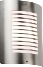 Modern Outdoor Wall Light Fitting Fixture Stainless Steel Square