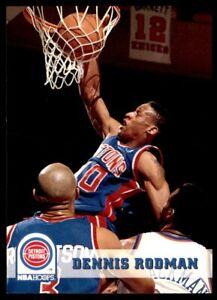 1993-94 Hoops #66 Dennis Rodman PISTONS NM-MT *509