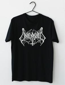 Unleashed Swedish Death Metal Band Logo T-Shirt M-2XL