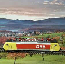 Minitrix 12753 N Gauge Obb Class 189 Multi Voltage Electric Locomotive.