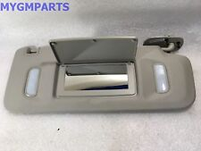 ESCALADE AVALANCHE GRAY PASSENGER SIDE SUNVISOR 2007-2013 NEW OEM  22850310