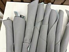 Thick  Leather Offcuts    Italian 1 kilo lightest grey