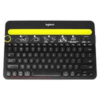 Logitech K480 Wireless Keyboard Universal Multi Device Bluetooth Desk Stand
