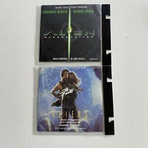 Alien Resurrection + Aliens Movie Soundtrack John Frizzell James Horner CD Set