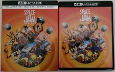 SPACE JAM: A NEW LEGACY 4K ULTRA HD BLU RAY 2 DISC SET + SLIPCOVER FREE SHIPPING
