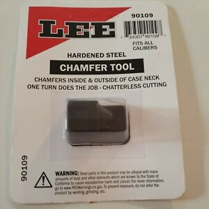 New! Lee Chamfer and Deburring Tool 90109