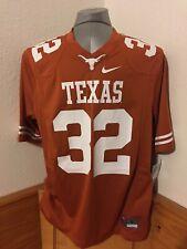 Texas Longhorns Football Jersey Nike 32 Cedric Benson Orange Size Mens Large New