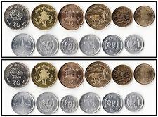 Nepal 12 coins set Paisa & Rupees coins lot AU UNC