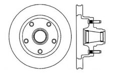 Disc Brake Rotor-High Performance Drilled And Slotted Centric 127.65001R