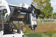Lowe Bp210 Round Planetary Auger Drive Digger Attachment Fits Skid Steer Loader