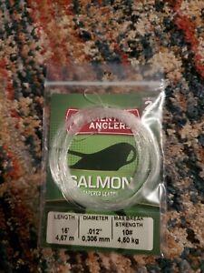 Scientific Angler Salmon Tapered Leader 16 Ft .012 Diameter #10 - 2 leader pack