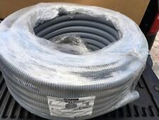 "Kwikon 012041 Flex Conduit Raceway, Hi/Low Voltage, Structured Wiring - 1""X100'"