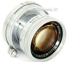 LEICA Summicron f=5cm 1:2 SUMMICRON 2/50mm - Prime Lens Made by E.LEITZ in 1954