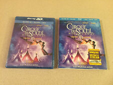 Cirque du Soleil: Worlds Away Limited Edition Blu 3D/DVD Combo New Sealed OOP