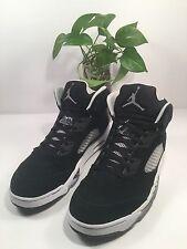 Nike Air Jordan V 5 Retro Black/Cool Grey-White Oreo 2013 136027-035 SZ 13