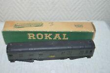 RARE WAGON VOITURE POSTALE D 1216 ROKAL TT  TRAIN BOITE POSTWAGEN DB