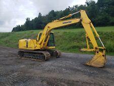 2001 Komatsu PC120-6E Excavator Diesel Track Hoe Construction Equipment w/ Thumb