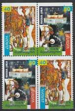Georgia postfris 2002 MNH 397-398 - Europa / Circus (k087)