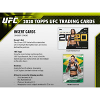 2020 TOPPS UFC HOBBY FACTORY SEALED BOX IN STOCK FREE SHIPPING