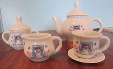 Raggedy Ann Classic American Dolls U.S. Stamp 80th Anniversary 13 pc Tea Set