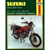 Suzuki GT 250 1975 Haynes Service Repair Manual 0120