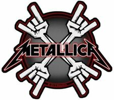 """Metallica """" Metal Horns """" Patch / SEW-ON PATCH 602384#"""