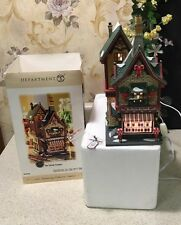 RARE! DEPT 56 CHRISTMAS CITY CANDY COUNTER 59256 30TH COLLECTORS HOUSE STORE