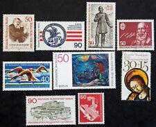 Sello BERLIN (ALEMANIA) 9 sellos de 1978 n (Cyn28) Stamp