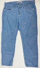 Womens Levi's Boyfriend Blue Jeans Size 29