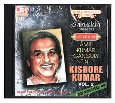 Hindi Karaoke CD Legend Of Amit Kumar Ganguly in Kishore Kumar Vol 2 Aniruddh