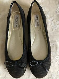 Jimmy Choo Women Shoes/ Exc Conds/ Size 37.5/ Made In Italy
