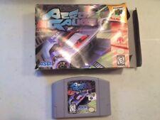 AERO GAUGE BOXED N64 NINTENDO 64 GAME