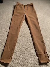 American Apparel - Tan Brown Skinny Jeans - Size 26 (AU 6)