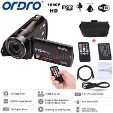 "ORDRO HDV-V7 1080P HD Digital Video Camera Camcorder 16×Zoom 3.0""LCD F4S8"