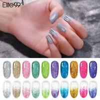 Elite99 Soak Off Laser Shimmer Gel Nail Polish UV LED Varnish 10ML Top Base Coat