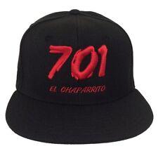 Black Joaquin El Chapo 701 Guzman Sinaloa Cartel Drug Snapback Snap Hat Cap