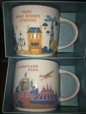 Starbucks Coffee Mug From Disney  Land Paris 2018