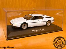 BMW M1 M-1 WHITE 1:43