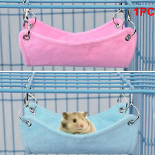 Hamster Hanging House Hammock Cage Sleeping Nest Pet Rat Hamsters Bed Toy S/M/L