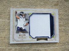 Russell Wilson Topps Museum 2 Color Patch 22/25