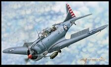 "Merit 61801 1/18 SBD-3/4 ""Dauntless"" Dive Bomber, Early/Late Version"