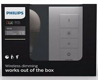 Philips Hue White Wireless Dimming Kit Ampoules LED e27 avec télécommande