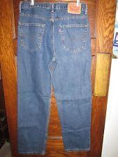 Levi's 550 Men's Dark Blue Denim Jeans Waist 33 Length 32