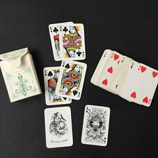 Jeu de Cartes A Jouer Ancien AG MULLER Switzerland Antique Playing Cards