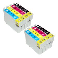 LOT DE 8 Cartouches d'encre compatibles Epson  T1285 serie renard pour~SX